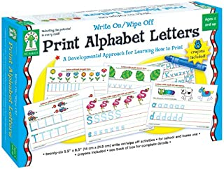 Key Education Publishing Write On/Wipe Off: Print Alphabet Letters