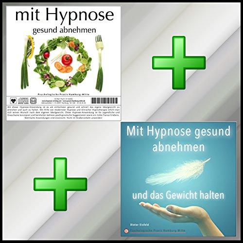 MIT HYPNOSE GESUND ABNEHMEN + MIT HYPNOSE GESUND ABNEHMEN UND DAS GEWICHT HALTEN (Hypnose-Audio-CDs) --> ...jetzt noch schneller und dauerhafter zum Wunschgewicht! (NUR FÜR KURZE ZEIT)