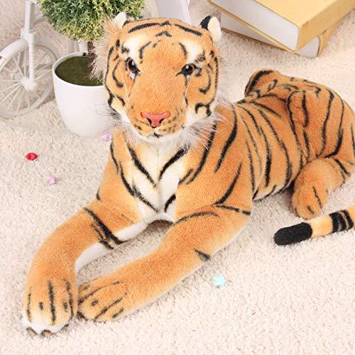 Doinbtoy Muñeco de Peluche de Tigre, Regalo del Festival para niños y niñas, Tigre Amarillo de 1 Metro