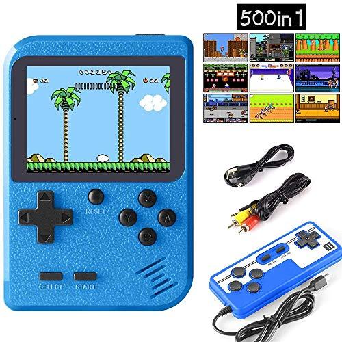 classement un comparer Console de jeux portable HMADA Retro FC, console de jeux portable avec 500 jeux classiques pour 2 joueurs…
