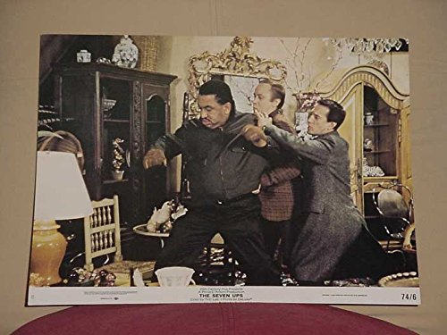 MOVIE POSTER: THE SEVEN UPS LOBBY CARD #8-20TH CENTURY FOX-1974 VG