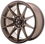 Japan Racing JR11 Dark Bronze - 18x8.5 ET35 5x100/5x120 Llantas de aleación (Competición)