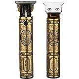 電動 バリカン ヘアーカッター コードレス USB充電式 ヘアトリマー メンズ 散髪用 精密彫刻 カミソリ 男性用・子供・家庭・業務用
