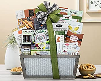 Wine Country Gift Baskets The Connoisseur Gourmet Gift Basket Various Pack of 1 1 Count