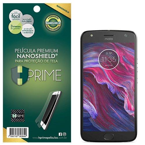 Pelicula HPrime NanoShield para Motorola Moto X4, Hprime, Película Protetora de Tela para Celular, Transparente