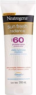 Protetor Solar Sun Fresh Radiance FPS60, Neutrogena, 200ml