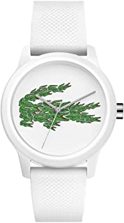 Lacoste Womens Quartz Watch, Analog Display and Silicone Strap 2001097