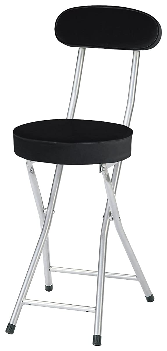 冗談で絶縁する四回椅子 P- フォールディング チェア 折りたたみ ブラック PFC-CP55 (BK)