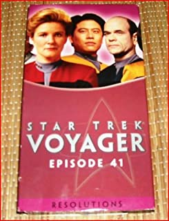 Star Trek - Voyager, Episode 41: Resolutions VHS