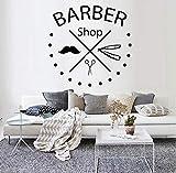 Barber Shop Wandkunst Fenster Zeichen Aufkleber