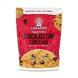 Lakanto Chocolate Chip Cookie Mix - Sugar Free, Sweetened with Monkfruit Sweetener, Gluten Free, Keto Diet Friendly, Vegan, 2g Net Carb, Almond Flour, Sea Salt (12 Cookies)