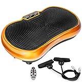 Fitfiu - VB400D PV100   Plataforma vibratoria, Unisex Adulto, Dorado, Única