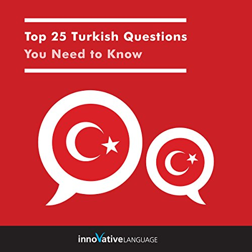 Top 25 Turkish Questions You Need to Know audiobook cover art