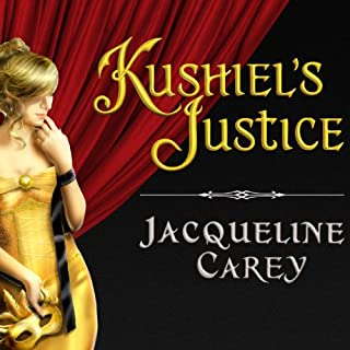 Kushiel's Justice audiobook cover art