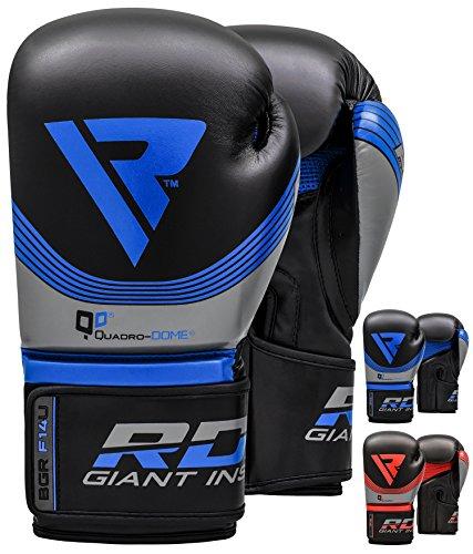 RDX Handschuhe, Rindsleder, für Gewichtheben, Bodybuilding, Fitness-Training