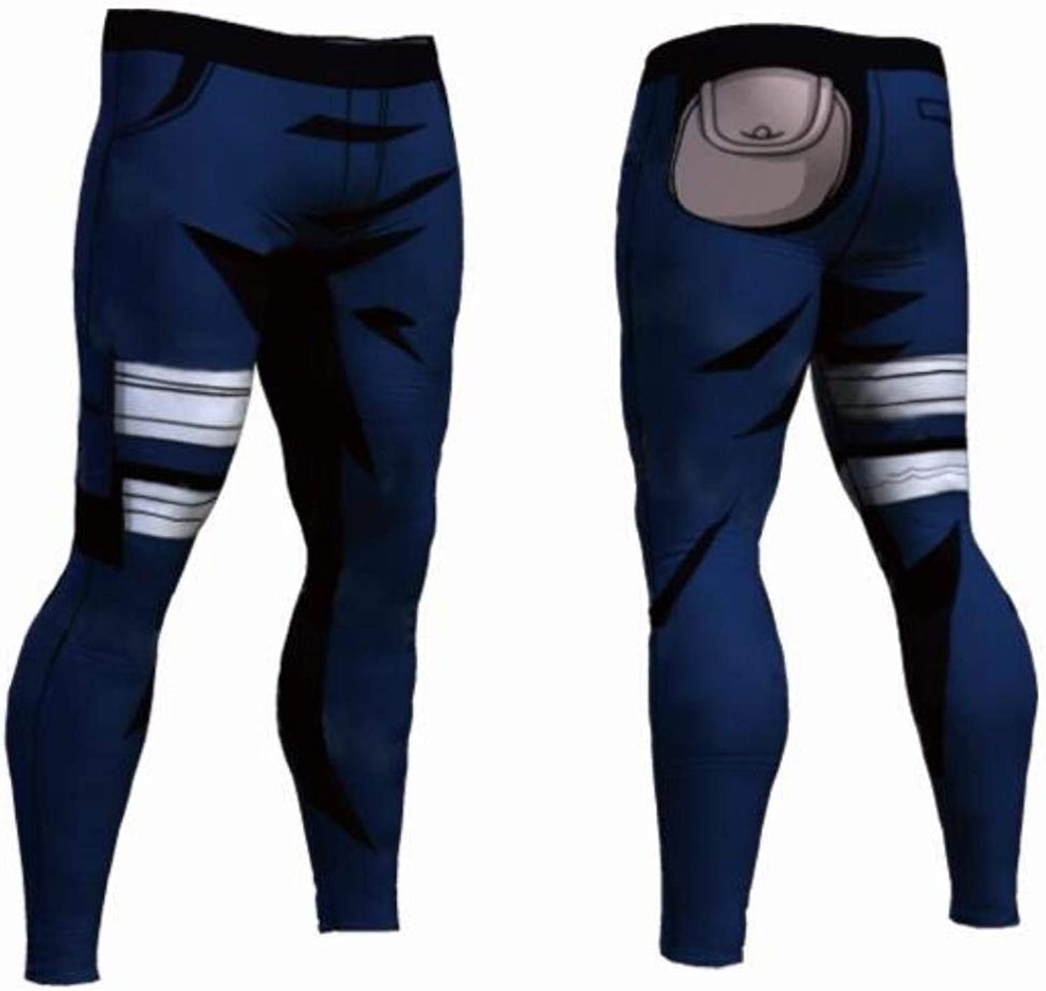 MYNOV Quick Dry Pants Dragon Ball Z Naruto Goku Black Vegeta Cosplay Skinny Leggings