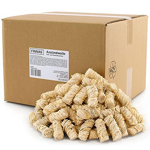 Finnas 10 kg Premium Öko-Kaminanzünder Anzündwolle Bild