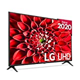 LG 55UN7100 - Smart TV 4K UHD 139 cm (55') con Inteligencia Artificial, HDR10 Pro, HLG, Sonido Ultra Surround, 3xHDMI 2.0, 2xUSB 2.0, Bluetooth 5.0, WiFi, Compatible con Alexa