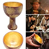 Indiana Jones Holy Grail Cup The Last Crusade Cup Christ Chalice Resin Replica Craft Prop