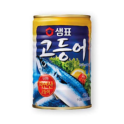 Sempio Can Mackerel Boiled 400g High Protein, Canned Food