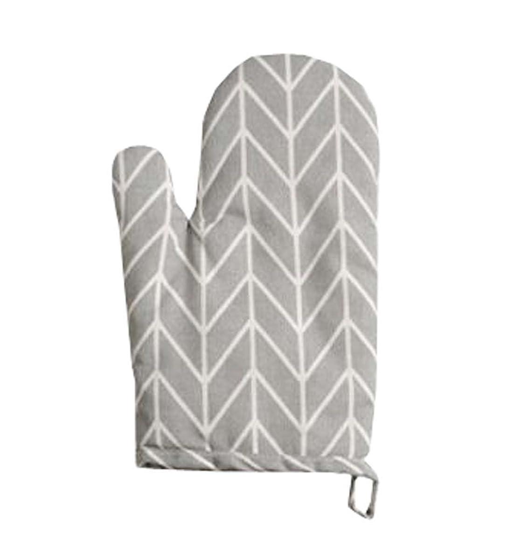 快い受けるずんぐりした綿オーブンミット - 耐熱性500°F、キッチン用オーブン手袋、C