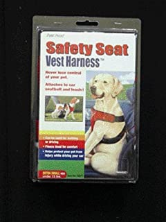Safety Seat Vest Harness - Extra Small (Under 15 Lbs) - Red