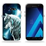 FUBAODA Funda Samsung Galaxy A5 2017/A520F de Silicona Transparente TPU, Trasera,Funda Samsung...