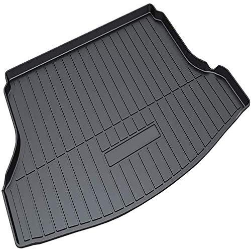 Coche Goma Alfombrillas para maletero, para Nissan Rogue 2014-2018 Antideslizante Tapete La Bandeja del Piso Boot Liner Mat Accesorios De Interior