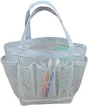 JQZLXXZL Swimming Storage Basket Wash Bag Mesh Cloth Bath Basket Bathroom Wash Bag Waterproof Bag Bath Bag, Bath Bag Bath Bag (Color : G)