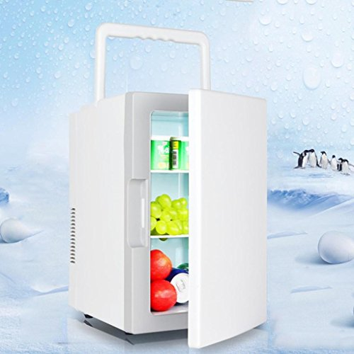 Portable Cool Box 18L Home Small Refrigerator Car Cold and Warm Box Office Dorm Room Bedroom Mini Refrigeration Box Outdoor Refrigerator Size 31 * 20 * 22cm Power 75W