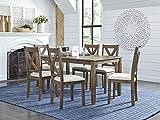 Standard Furniture Langston Dining Set, Dark Brown