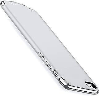 KYOKA iPhone7Plus バッテリー内蔵ケース 3パーツ式 軽量 超薄 バッテリーケース 3500mAh 大容量 急速充電 ケース型バッテリー (iPhone7 Plus, シルバー)