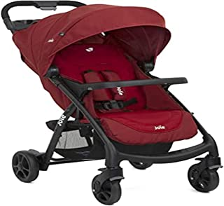 Joie Muze lx One Hand fold Stroller with Flat Reclining seat (Birth to 17.5kg)
