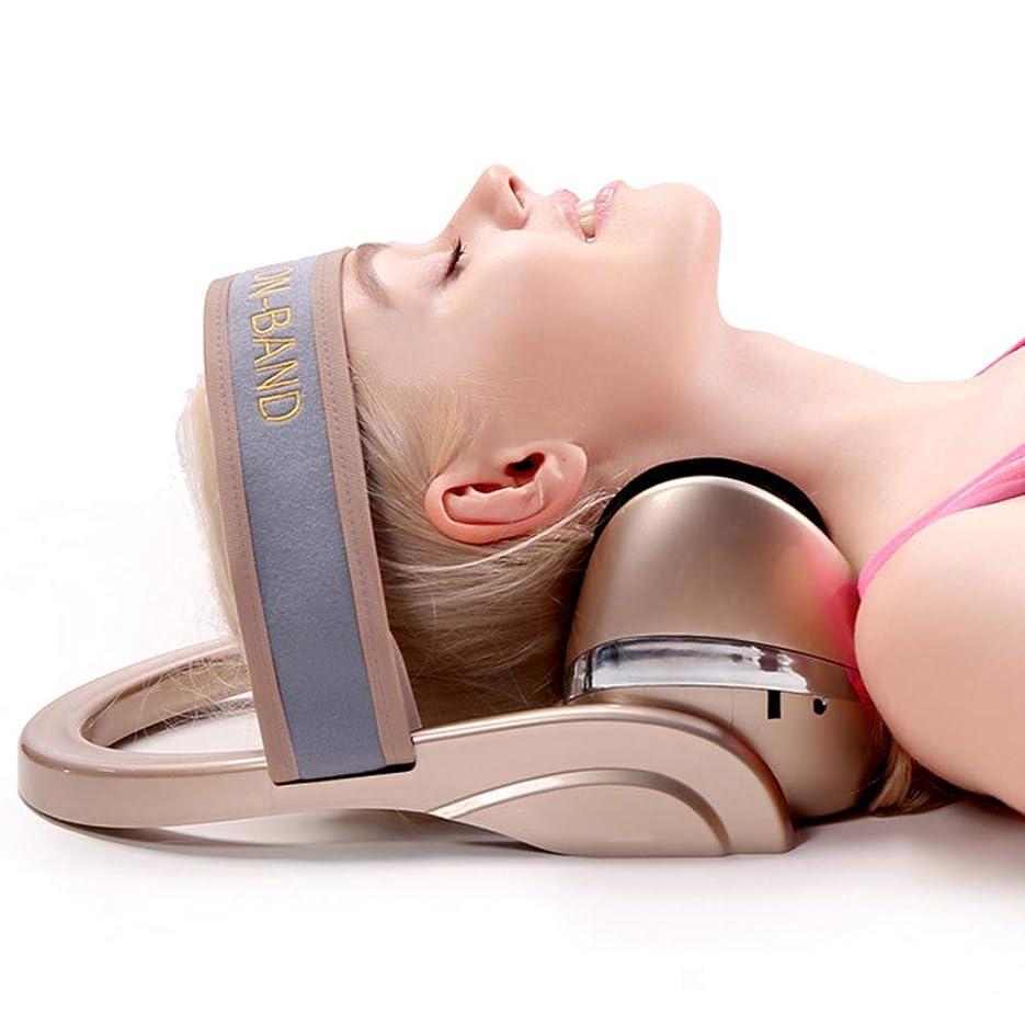 発掘するベル電気的整形外科の救助の首およびサポート肩の上部の背骨の緩い苦痛のマッサージの牽引のための電気頚椎のマッサージの弛緩の枕