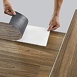 neu.holz Piastrelle/Listoni in PVC Adesivi (7 listoni = 0,975 m²) Pavimento Vinilico Fai da Te Pavimentazione Autoadesiva Rivestimento per Spazi Interni - Quercia Antica