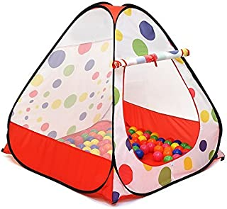 Kiddey Ball Pit Play Tent - Pops Up No Assembly Required - Use as a Ball Pit or Indoor/Outdoor Play Tent, Comes with Conve...