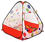 Kiddey Ball Pit Play Tent - Pops Up No Assembly Required - Use as a Ball Pit or Indoor/Outdoor Play Tent, Comes with Convenient Carry Bag for Easy Travel and Storage, Great Gift Idea, Balls Not Included