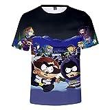 Ywfzzxs Camiseta Tops 3D Camisetas De Moda Undershirt Manga Corta Unisex Novedad Disfraz HD Anime Impresin South Park
