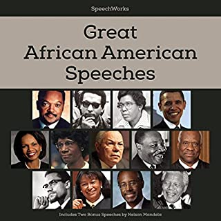 Great African American Speeches audiobook cover art