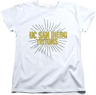 San Diego Mens Performance T-Shirt University of California Splatter