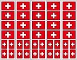 40 Tattoos: Switzerland Flag, Swiss Party Favors