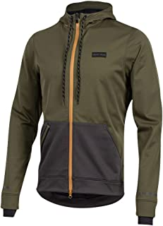 PEARL IZUMI Men's Versa Quilted Cycling Hoodie, Forest/Phantom, X-Large