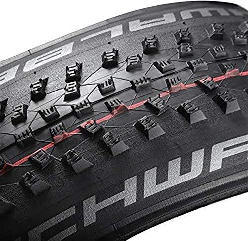 LYTBJ Neumático de Bicicleta Tubeless Easy 27.5 29 2.1 2.25 2.6 67EPI XC MTB Neumáticos de Bicicleta de montaña 29er (Tamaño: ROCKET27.5x2.25)