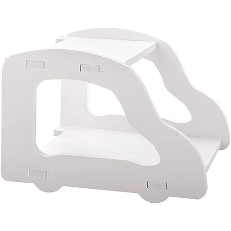 ShouYu WiFi Router estante Soporte de pared TV Set-Top Boxes estante almacenamiento Tallado caja de almacenamiento decoración Estantes flotantes(Blanco,22*21*15cm)