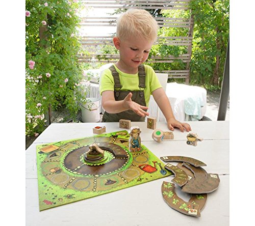 Image of HABA My Very First Games Little Garden - Cooperative Board Game for Ages 2 + (Made in Germany)
