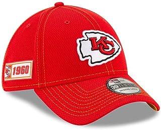 New Era Kansas City Chiefs Road 39THIRTY Sideline Cap On Field Hat Medium/Large Red