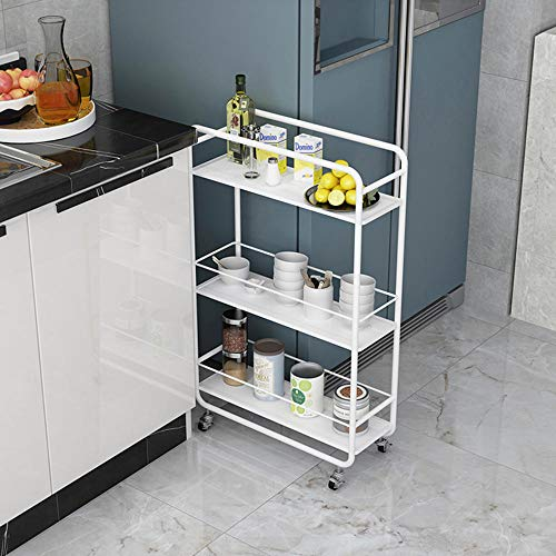 carrito verdulero cocina blanco fabricante JSLEJ