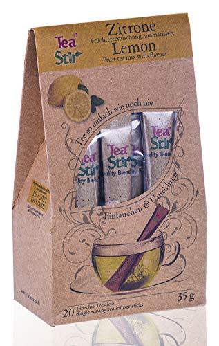 Zitronentee | 20 umweltfreundliche Teesticks - Tea Sticks