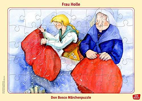 Frau Holle. Don Bosco Märchenpuzzle (Don Bosco Märchenpuzzle für Familie und Kindergarten)