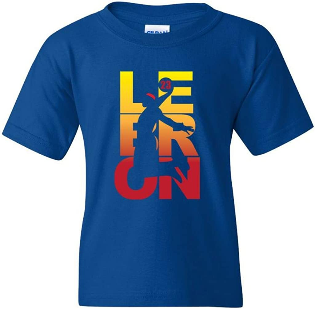 New Lebron Save money Fan Wear Cleveland DT Tee Youth Novelty Kids lowest price T-Shirt